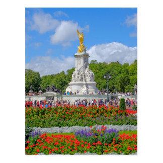 Cartão Postal Memorial de Victoria, Buckingham Palace, Londres