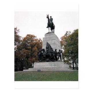 Cartão Postal Memorial de Virgínia em Gettysburg NMP