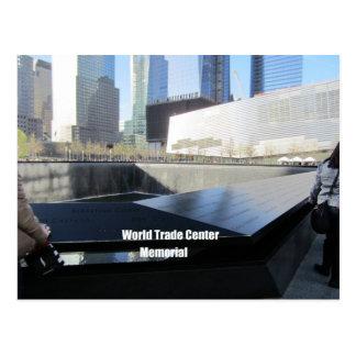 Cartão Postal Memorial do World Trade Center, Nova Iorque