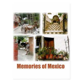 Cartão Postal Memórias de México