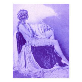 Cartão Postal Menina 1928 de Ziegfeld