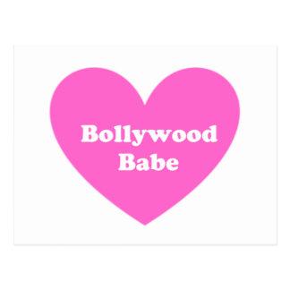Cartão Postal Menina de Bollywood