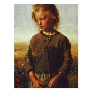 Cartão Postal Menina de Fisher, 1874