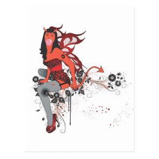 Cartão Postal Menina do diabo II