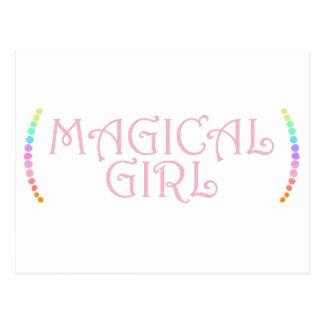Cartão Postal Menina mágica