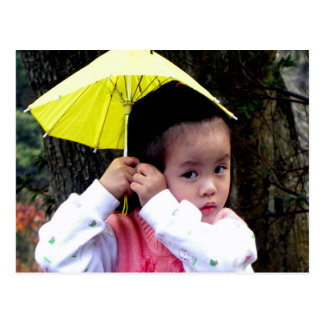 Cartão Postal Menina taiwanesa