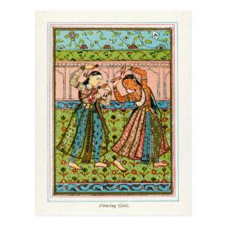 Cartão Postal Meninas de dança