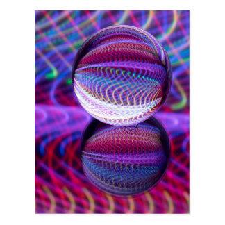Cartão Postal Mentiras na bola de cristal