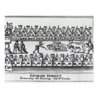 Cartão Postal Mercado de Escheape