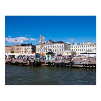 Cartão Postal Mercado de Helsínquia