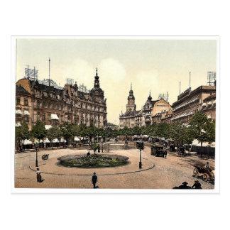 Cartão Postal Mercado de Ross, Frankfort no cano principal (isto