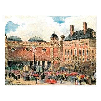 Cartão Postal Mercado do jardim de Covent