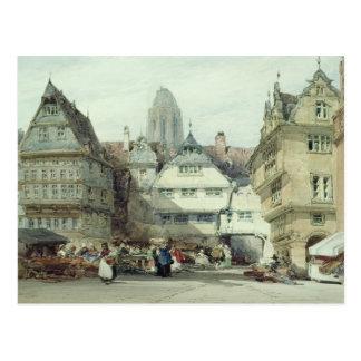 Cartão Postal Mercado, Francoforte