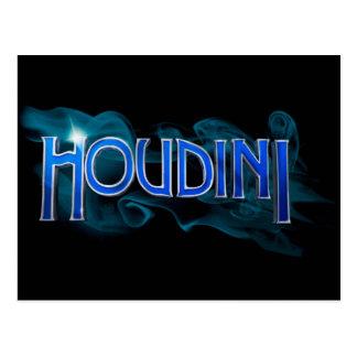 Cartão Postal Mercadoria oficial de Houdini