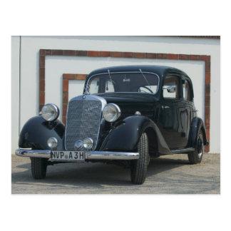 Cartão Postal Mercedes antiga 3