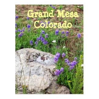 Cartão Postal Mesa grande, Colorado