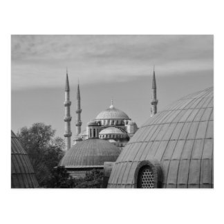 Cartão Postal Mesquita azul, Istambul, Turquia