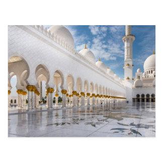 Cartão Postal Mesquita do Sheikh Zayed