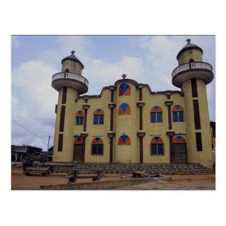 Cartão Postal Mesquita perto do ponto Atake de Rond, novo de