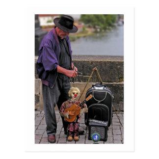 Cartão Postal Mestre do fantoche