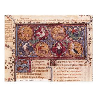 Cartão Postal Metamorfoseia, de Ovid Moralise