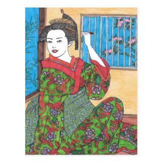 Cartão Postal Meu quimono
