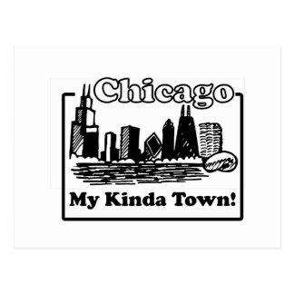 Cartão Postal Meu tipo da cidade