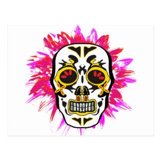 Cartão Postal Mexican Skull