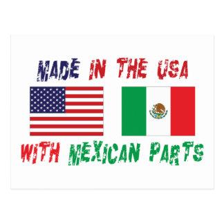 Cartão Postal México-americano americano