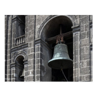Cartão Postal México, Cidade do México, Zocalo. As torres de