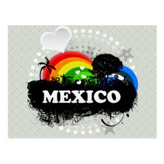 Cartão Postal México frutado bonito