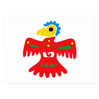 Cartão Postal México Mexico pássaro bird