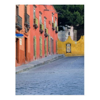 Cartão Postal México, San Miguel de Allende, casas avante