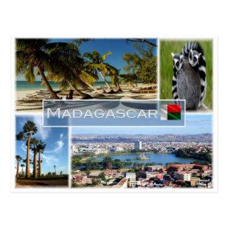 Cartão Postal MG Madagascar -