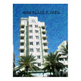 Cartão Postal Miami Beach, FL