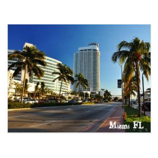 Cartão Postal Miami FL