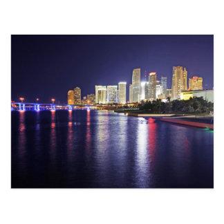 Cartão Postal Miami, Florida, cidade do progresso