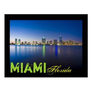 Cartão Postal Miami, Florida, EUA