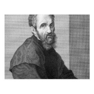 Cartão Postal Michelangelo