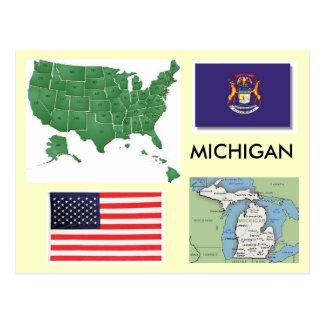 Cartão Postal Michigan, EUA