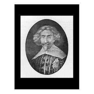 Cartão Postal Miguel de Cervantes