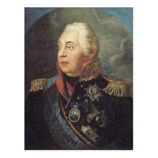Cartão Postal Mikhail Kutuzov