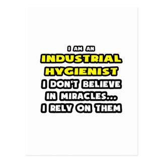 Cartão Postal Milagre e higienistas industriais… engraçados