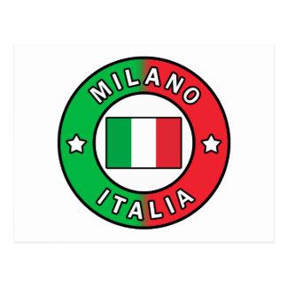 Cartão Postal Milão Italia