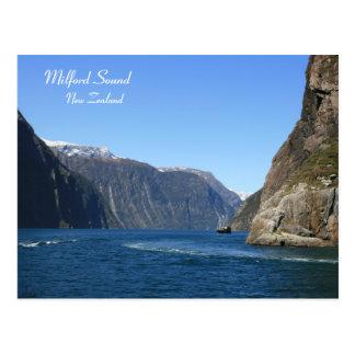 Cartão Postal Milford Sound, Nova Zelândia