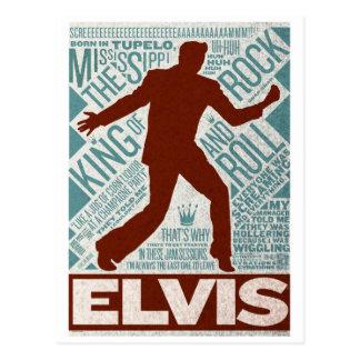 Cartão Postal Milhão tipos de Elvis do quarteto do dólar