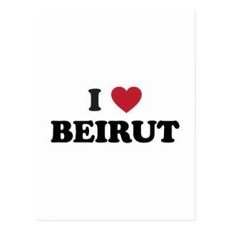 Cartão Postal Mim coração Beirute Líbano