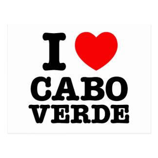 Cartão Postal Mim coração Cabo Verde
