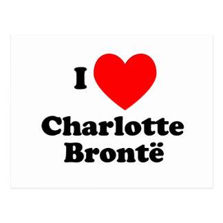 Cartão Postal Mim coração Charlotte Bronte