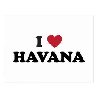 Cartão Postal Mim coração Havana Cuba